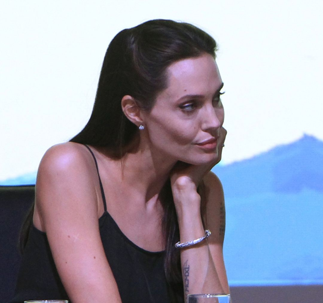 ანჯელინა ჯოლი анджелина джоли анорексия